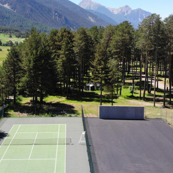 Terrain de tennis © Camping de Montgenèvre