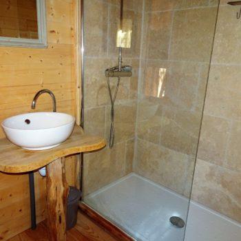 Salle de bain © Camping Municipal Le Bois des Alberts - Montgenèvre