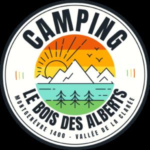 Logo © Camping Municipal Le Bois des Alberts - Montgenèvre